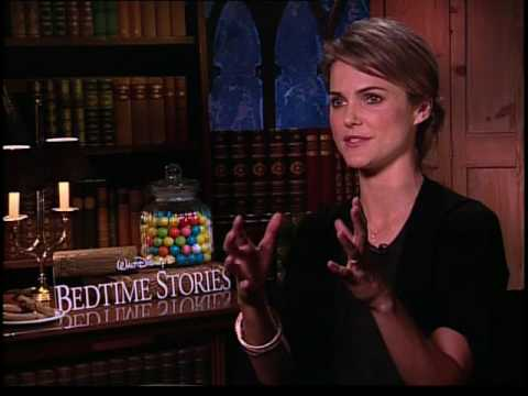 Keri Russell interview for Bedtime Stories