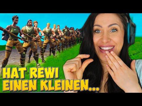 Rewi VS Gnu FRAGT artet aus! Mit 100 Zuschauern ⛏️ Fortnite (Special)