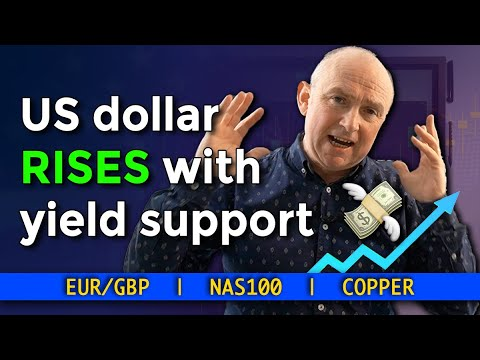 💸 The US Dollar RISES With Yield Support   EURGBP, NAS100, COPPER   Forex Forecast