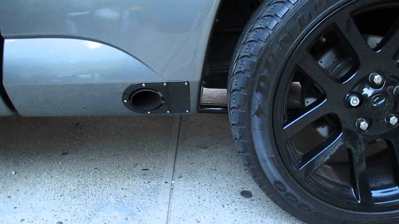 side exhaust pics ford truck