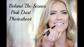 Behind the scenes at Christina El Moussa photoshoot!