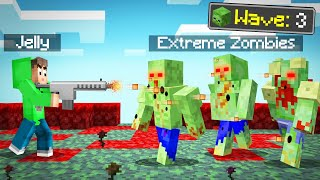 SURVIVE The ZOMBIE APOCALYPSE In MINECRAFT! (Dangerous)