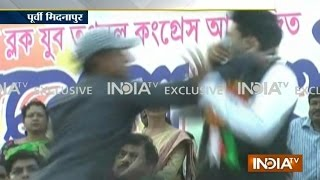Exclusive: Mamata Banerjee's Nephew Slapped by Youth During Rally - India TV