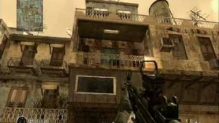 Call of Duty 4 - Backlot Glitches Out of Map