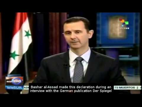 Bashar Al-Assad will only run in Syrian election with people's support