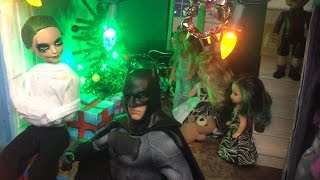 Christmas Madness-Joker, Batman, Harley & Poison Ivy
