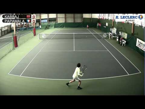 KABBAJ (MAR) vs PAPAMALAMIS (FRA) - Open Super 12 Auray Tennis - Court 1