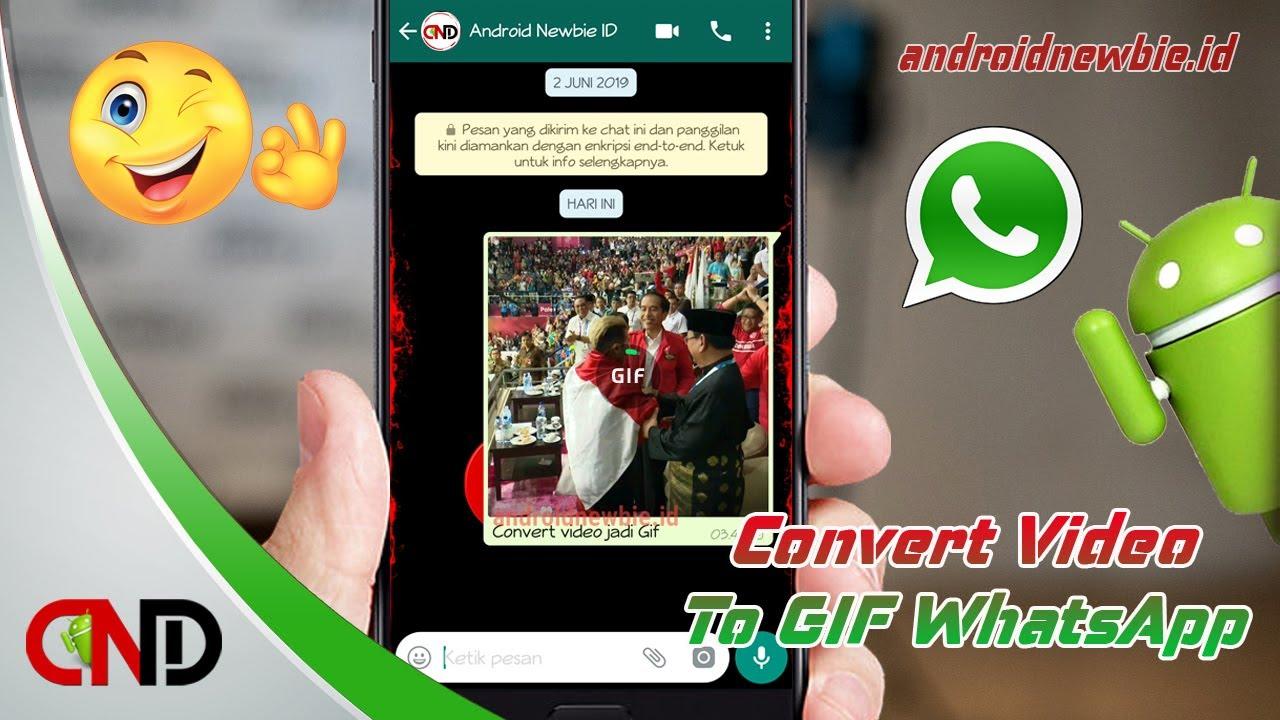 Cara Mengubah Video Ke Gif Di Whatsapp Tanpa Instal Aplikasi Youtube