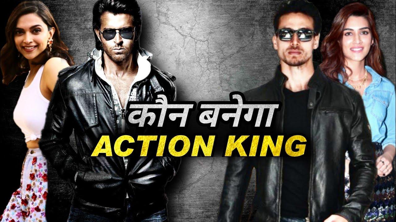 Download Hrithik Roshan Vs Tiger Shroff || Deepika Padukone Vs Kriti Sanon || Ganapath Vs Fighter