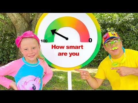 Download Nastya finds out how smart and creative she is