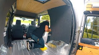 Adding Wall Panels To My Van Conversion!