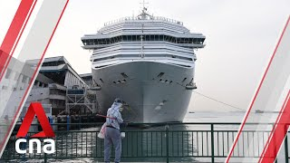 Costa Fortuna cruise ship passengers disembark in Singapore