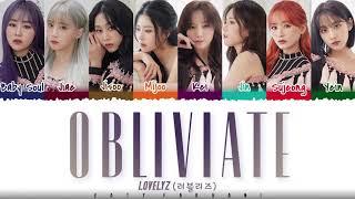 LOVELYZ (러블리즈) - 'OBLIVIATE' Lyrics [Color Coded_Han_Rom_Eng]