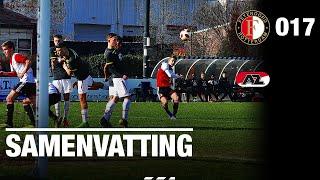 Samenvatting | Feyenoord O17 - AZ O17