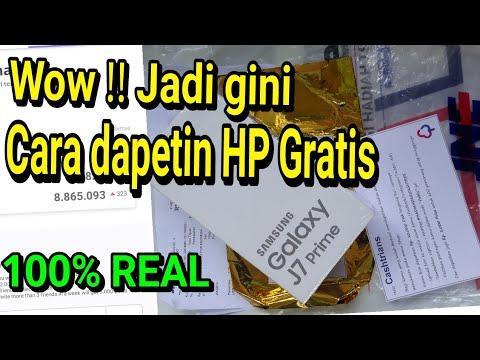CARA MENDAPATKAN HP GRATIS | Unboxing Hadiah dari CASHTREE