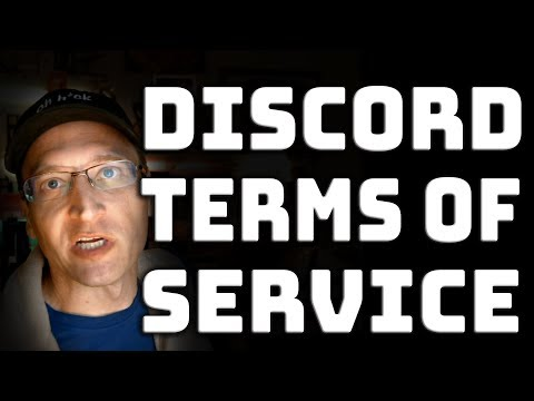 What's up with Discord's Terms of Service?