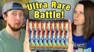 Who Can Pull THE MOST ULTRA RARE POKEMON CARDS from a Cosmic Eclipse Booster Box Opening?
