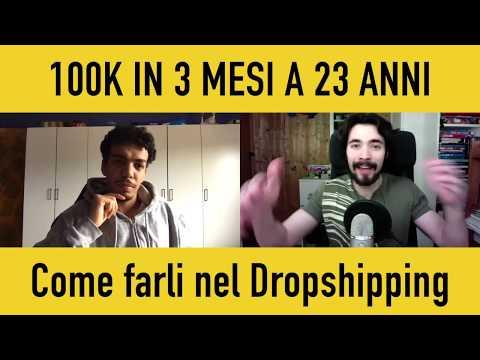 Come fare 100K in Tre Mesi a 23 anni con il Dropshipping - intervista a Youssef | Michele Miglio thumbnail