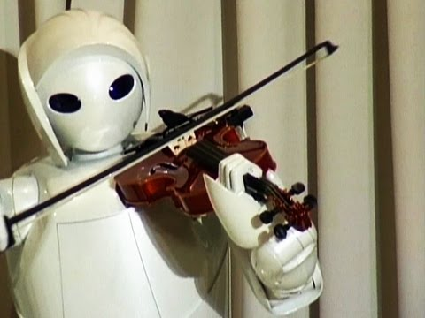 Music Machine -- A Robot Plays a Classic on the Violin