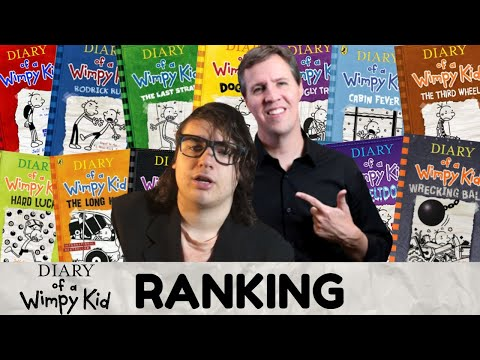 Every Diary Of A Wimpy Kid Book Ranked