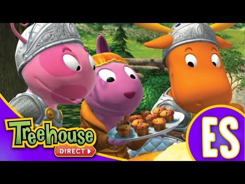 Los Backyardigans: La historia del Dragón no tan bueno | HD Episodios Para Niños - Ep.80