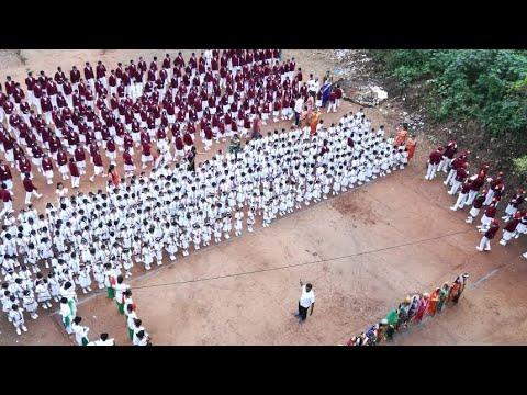 St Thomas High School Basaveshwarnagar - Independence day celebration photos