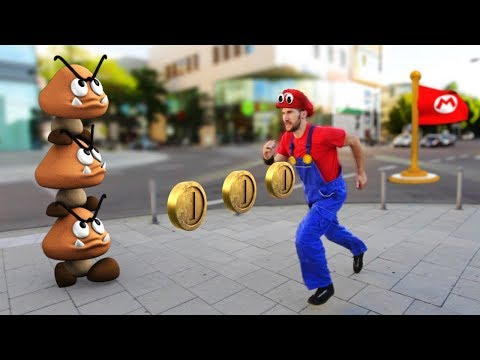 Download Youtube: Super Mario Odyssey In Real Life