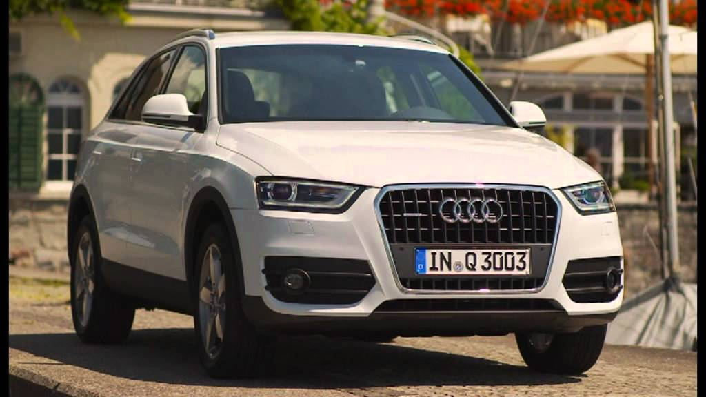 2012 glacier white audi q3 2 0 tfsi quattro exterior youtube. Black Bedroom Furniture Sets. Home Design Ideas