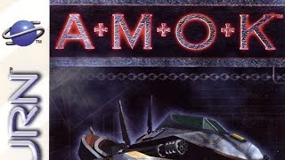 Classic Game Room - AMOK review for Sega Saturn