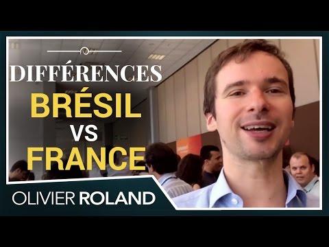 Quelles DIFFÉRENCES CULTURELLES entre le Brésil et la France, par des Brésiliens francophones
