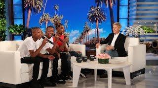 Ellen's Surprise for Singing Trio is 'Perfect'