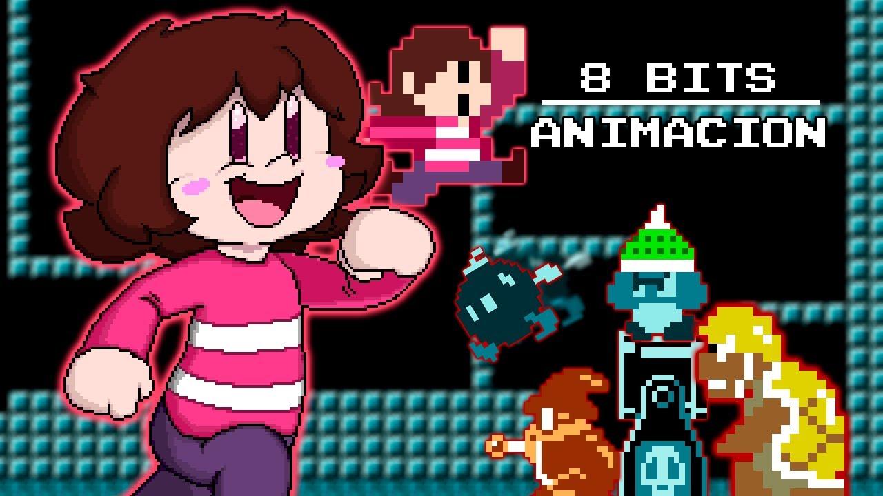 Sandy 8 bits - Animación.