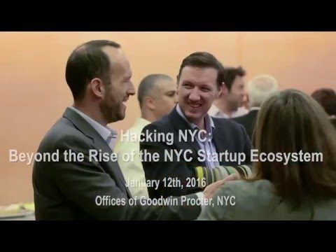 Hacking NYC - The Emergence of NYC's Startup Ecosystems