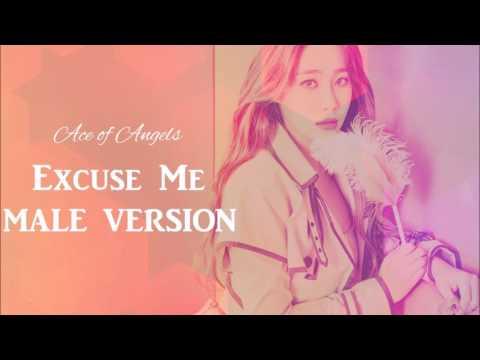 AOA - Excuse Me [Male Version]