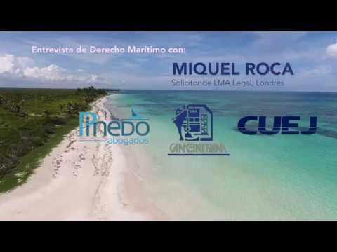 Platica de Derecho Marítimo con el Solicitor MIquel Roca @cuej