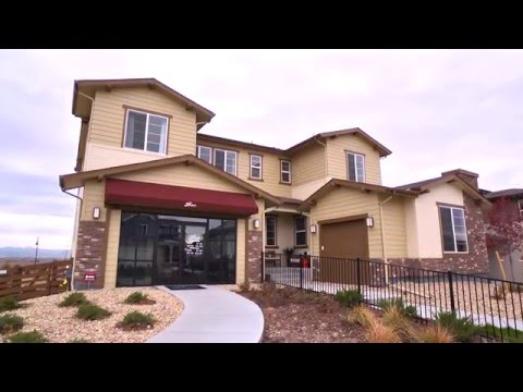 Shea Homes Trailside Model at Colliers Hill