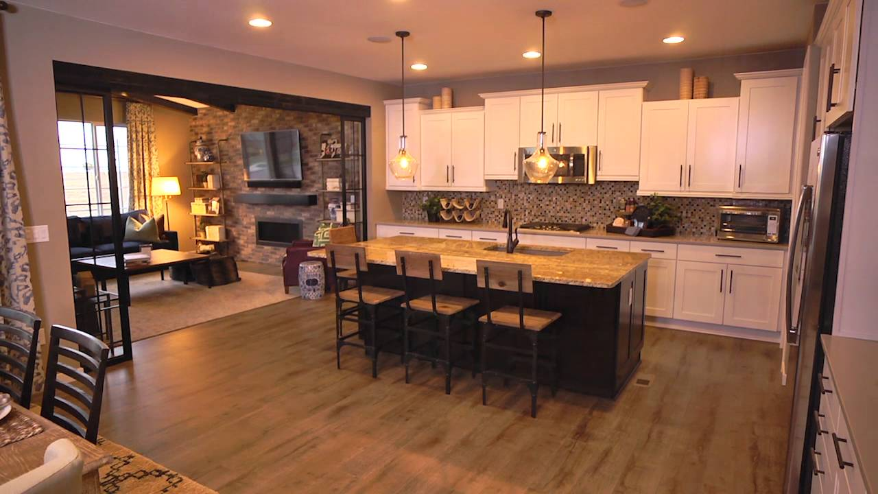 Shea Homes Trailside Model at Colliers Hill - YouTube