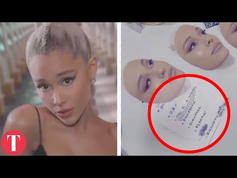 All The Hidden Messages In Ariana Grande † s Music Video No Tears Left To Cry