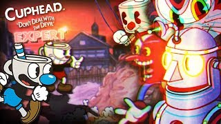 TIME FOR EXPERT MODE!! || Cuphead (EXPERT BOSSES)