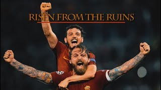 AS ROMA v FC BARCELONA - Risen From The Ruins | 4-4 Cinematic Movie