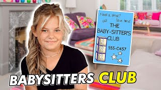 REESE STARTS A BABYSITTERS CLUB | THE LEROYS