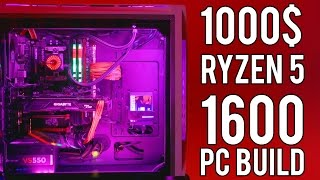 I just LOVE this 1000$ RYZEN 5 PC build...