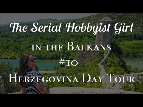 Balkans Vlog #10: Herzegovina Day Tour: Kravika Falls, Blagaj, and More