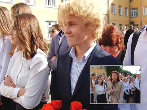 Первое сентября в школе №1 - www.abakan-news.ru
