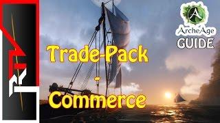 Archeage Guide - commerce / Trade pack - livraison