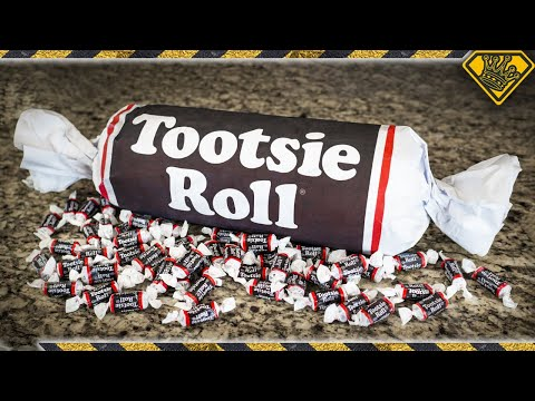 The Ace & TJ Show - How to Make a 10-POUND Tootsie Roll