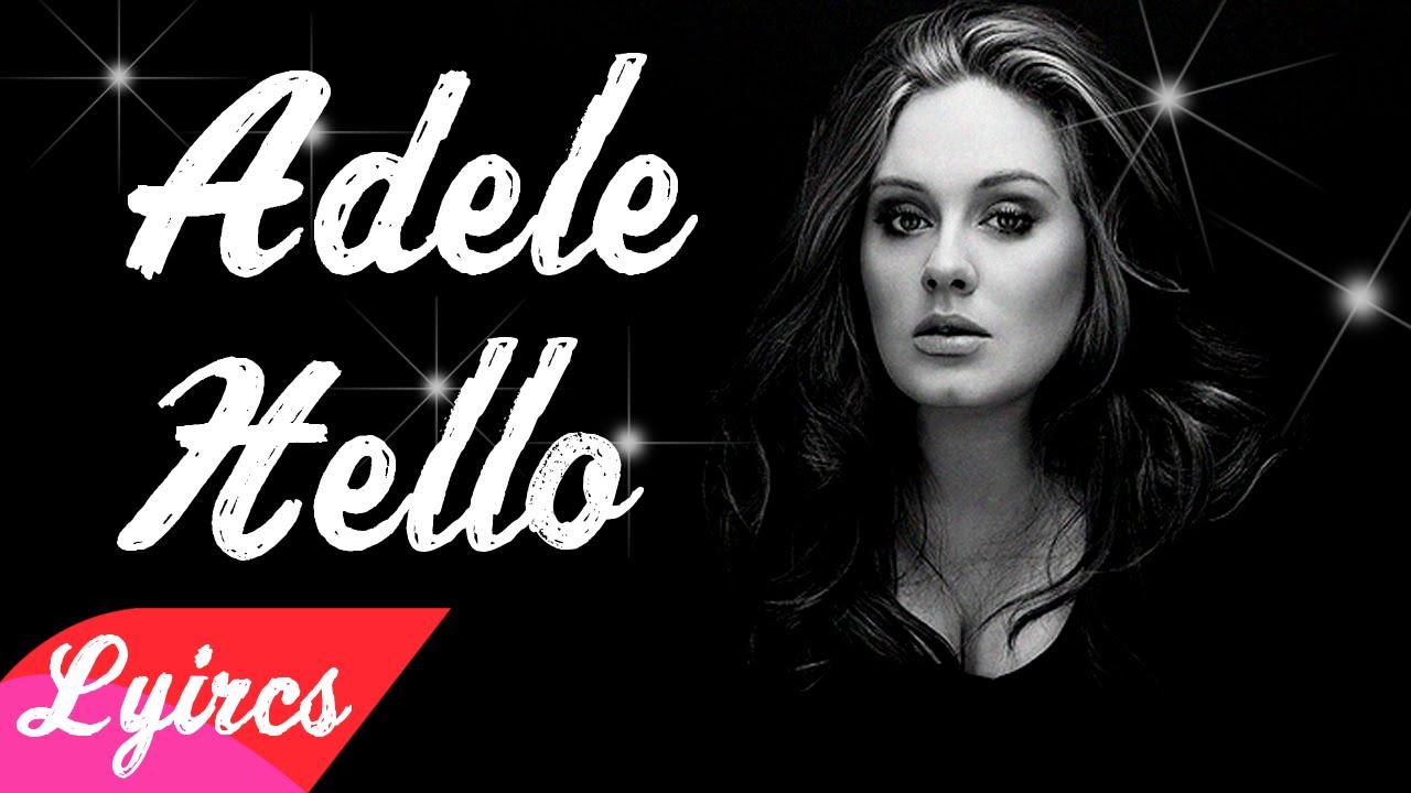 Hello - Adele (Lyrics) - YouTube - photo#37