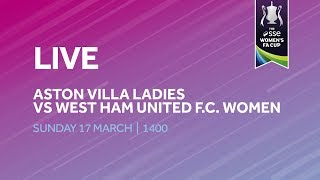 Re-run | Aston Villa Ladies 0-1 West Ham United  Women