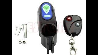 Тестирование велосипедной сигнализации из Китая (Anti-theft)(Для самой сигнализации нужна батарейка алкалайн 9 вольт, она не шла в комплекте. Батарейка для пульта была,..., 2015-07-25T12:39:36.000Z)