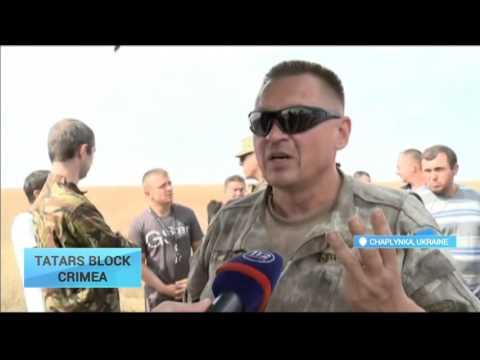 Tatars Block Crimea: Ukraine trade blockade against Russia spreads to Transnistria border